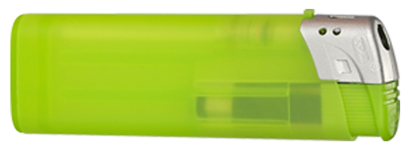 Elektrofeuerzeug transparent einseitig bedruckt